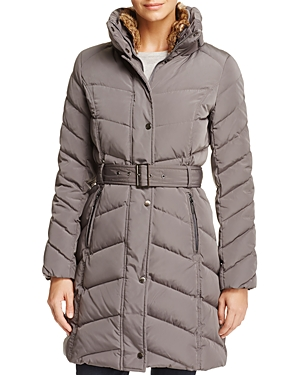 Cole Haan Stand Collar Puffer Coat