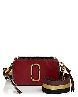 Marc Jacobs Snapshot Degrade Strap Color Block Leather Camera Bag