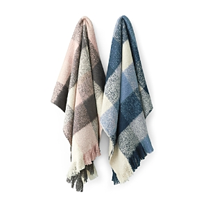 Oake Plaid Throw - 100% Exclusive