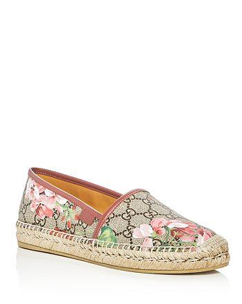 18e36add126 Gucci - Women s GG Blooms Supreme Espadrille Flats