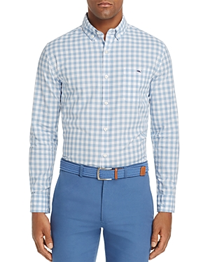 Vineyard Vines Riverhead Tucker Gingham Slim Fit Button-Down Shirt