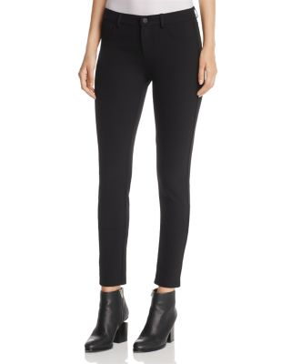 Mercer Acclaimed Stretch Mid-Rise Skinny Jeans, Black