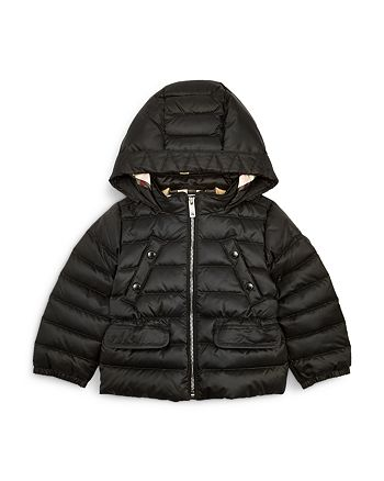 Burberry - Girls' Mini Bronwyn Hooded Down Jacket - Baby, Little Kid