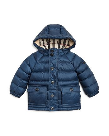 df9b846b31ce Burberry Boys  Hooded Down Puffer Jacket - Baby
