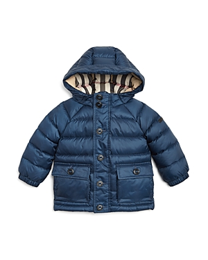 Burberry Boys Hooded Down Puffer Jacket  Baby