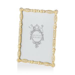 Olivia Riegel Gold Asbury Frame, 5 x 7