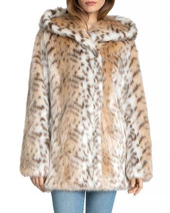 6fc084df645d Avec Les Filles Hooded Faux Fur Coat | Bloomingdale's