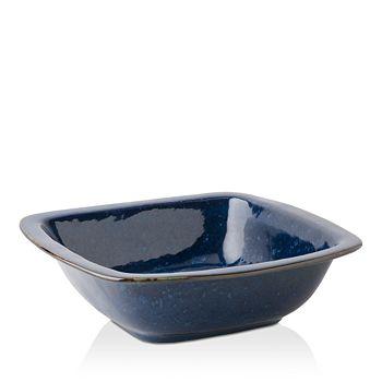 "Juliska - Puro Dappled Cobalt 12.5"" Rounded Square Serving Bowl"