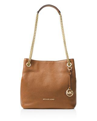 michael michael kors jet set chain medium leather shoulder bag rh bloomingdales com