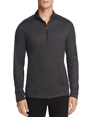 Michael Kors Mock Neck Quarter-Zip Sweater - 100% Exclusive