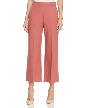 Rebecca Taylor Crop Flat Front Trousers