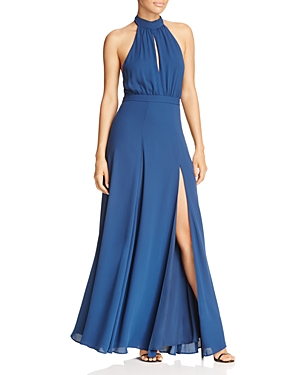 Yumi Kim High Demand Halter Maxi Dress