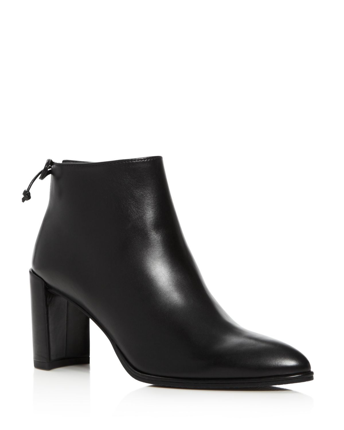 Stuart Weitzman Lofty Block Heel Booties