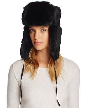 Crown Cap - Rabbit Fur Russian Aviator Hat