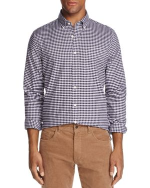 The Men's Store at Bloomingdale's Gingham Button-Down Regular Fit Shirt - 100% Exclusive thumbnail