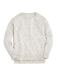 AQUA Girls' Cashmere Sweater, Big Kid - 100% Exclusive - Bloomingdale's_0