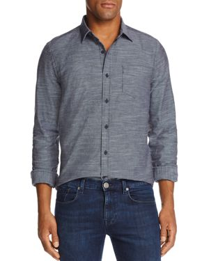 The Men's Store at Bloomingdale's Woven Classic Fit Button-Down Shirt - 100% Exclusive thumbnail