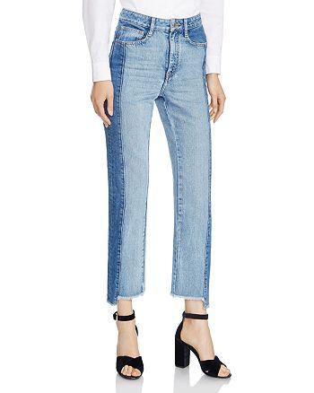 Maje - Maje Packy Two-Tone Faded Jeans