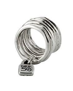 Uno de 50 Stacked Lock Ring - Bloomingdale's_0