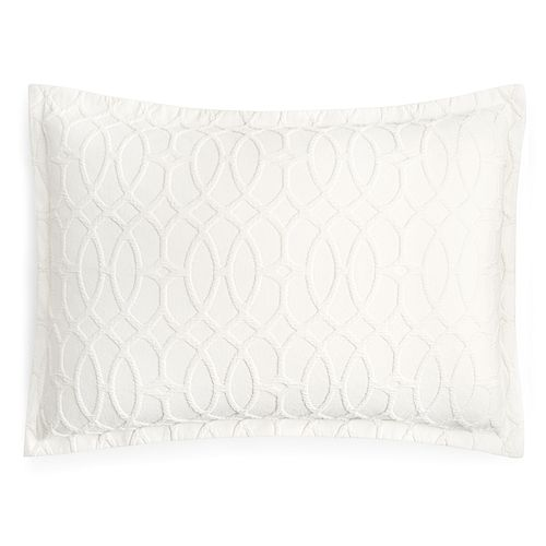 Hudson Park Collection - Interlock Standard Sham - 100% Exclusive