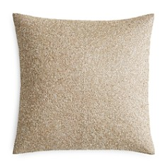"Hudson Park Pietra Metallic Beaded Decorative Pillow, 18"" x 18"" - 100% Exclusive - Bloomingdale's Registry_0"