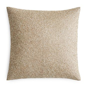 "Hudson Park Collection - Pietra Metallic Beaded Decorative Pillow, 18"" x 18"" - 100% Exclusive"