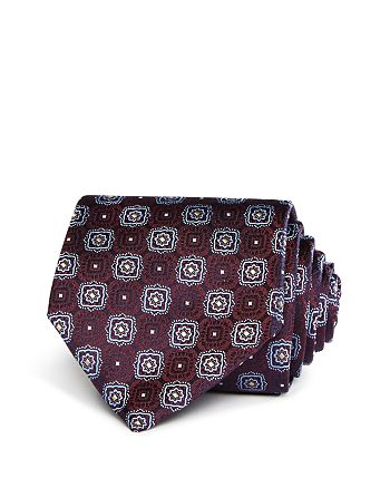 Canali - Large Square Medallion Classic Tie