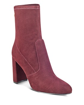 IVANKA TRUMP - Sayida High Block Heel Booties