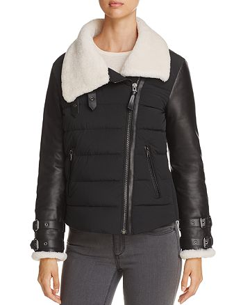Mackage - Jovie Shearling-Lined Down Coat
