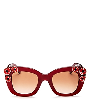 kate spade new york Drystle Square Sunglasses, 42mm