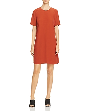 Eileen Fisher Petites Short Sleeve A-Line Dress