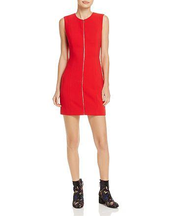 bd38def361bc Elizabeth and James Susannah Zip-Front Mini Dress | Bloomingdale's