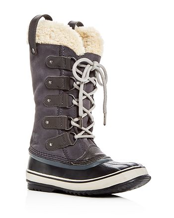 Sorel - Women's Joan Of Arctic Suede & Shearling Cold Weather Boots