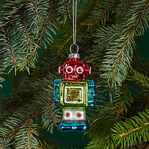 Bloomingdale's Glass Robot Ornament - 100% Exclusive