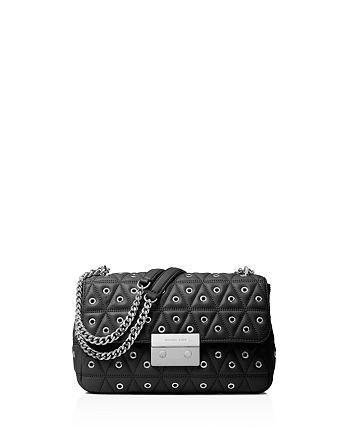 a5d74dae3c8d MICHAEL Michael Kors - Sloan Grommet Large Quilted Leather Shoulder Bag
