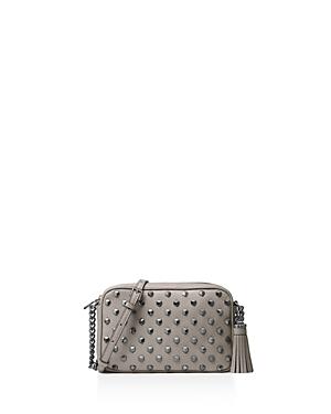 Michael Michael Kors Ginny Studded Medium Leather Camera Bag
