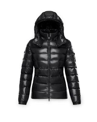 Bady Slim Short Down Jacket, Black