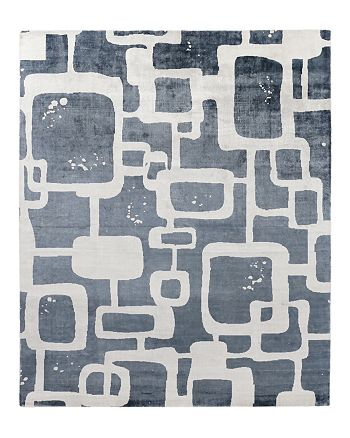 Exquisite Rugs - Coyle Area Rug, Abstract Squares 8' x 10'