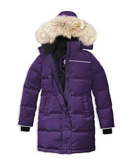 Canada Goose - Girls' Juniper Fur-Trimmed Hooded Parka - Big Kid
