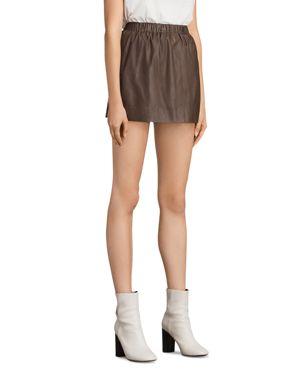 Allsaints Suko Leather Skirt