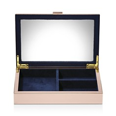Reed & Barton - Mother-of-Pearl Gold Jewelry Box