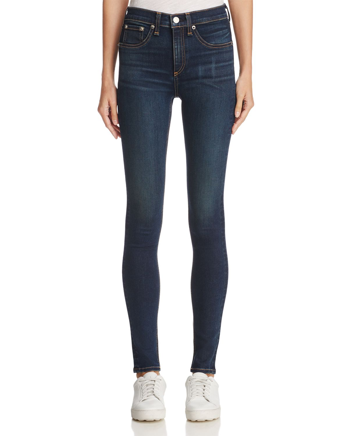 Skinny Jeans In Bedford by Rag & Bone/Jean