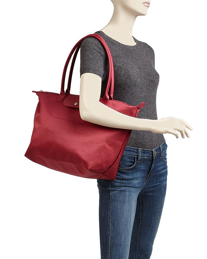 71803aaa6 Longchamp Le Pliage Neo Large Nylon Tote | Bloomingdale's