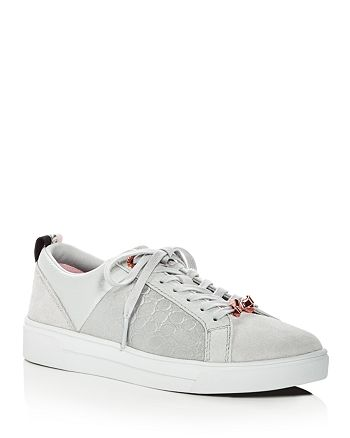 Ted Baker - Women's Kuleib Leather & Suede Lace Up Sneakers