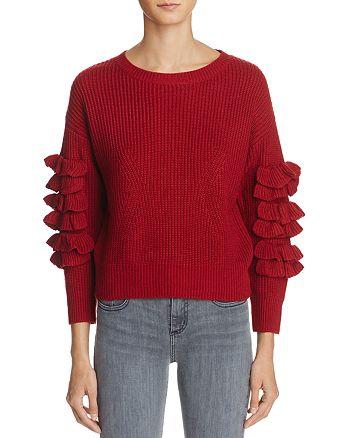 Molly Bracken - Ruffle Sweater