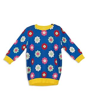 Margherita Kids Girls' Daisy Intarsia Dress - Little Kid