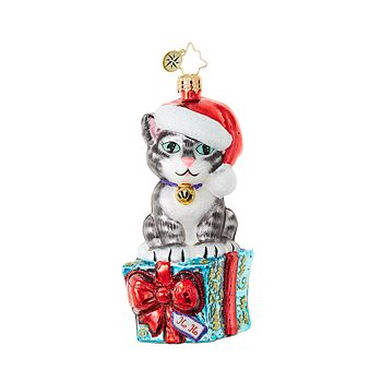 Christopher Radko - Fabulous Feline Flair Ornament