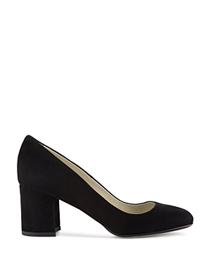 Hobbs London Sarah Block Heel Court Pumps