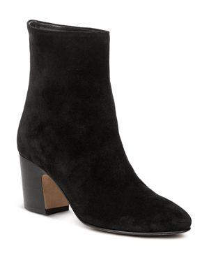Vince Women's Dryden Suede High Block Heel Booties 2844996