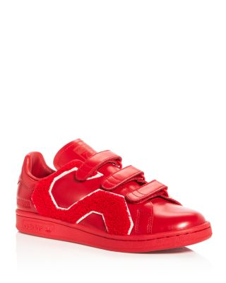 Adidas By Raf Simons RAF SIMONS FOR ADIDAS UNISEX STAN SMITH COMFORT BADGE TRIPLE STRAP SNEAKERS